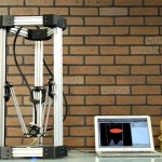 deltamaker 3d printer 150x150 Kossel 3D Printer (Rostock 3D Printer) using Openbeam Extrusions