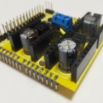 Arduino CNC Shield 50V Capacitors 150x150 Arduino CNC Shield   100% GRBL Compatable