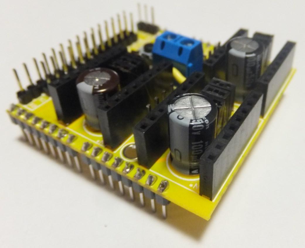 Arduino cnc shield v capacitors protoneer nz