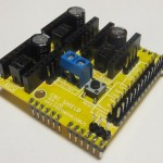 Arduino CNC Shield Assembled 150x150 Arduino CNC Shield   100% GRBL Compatable