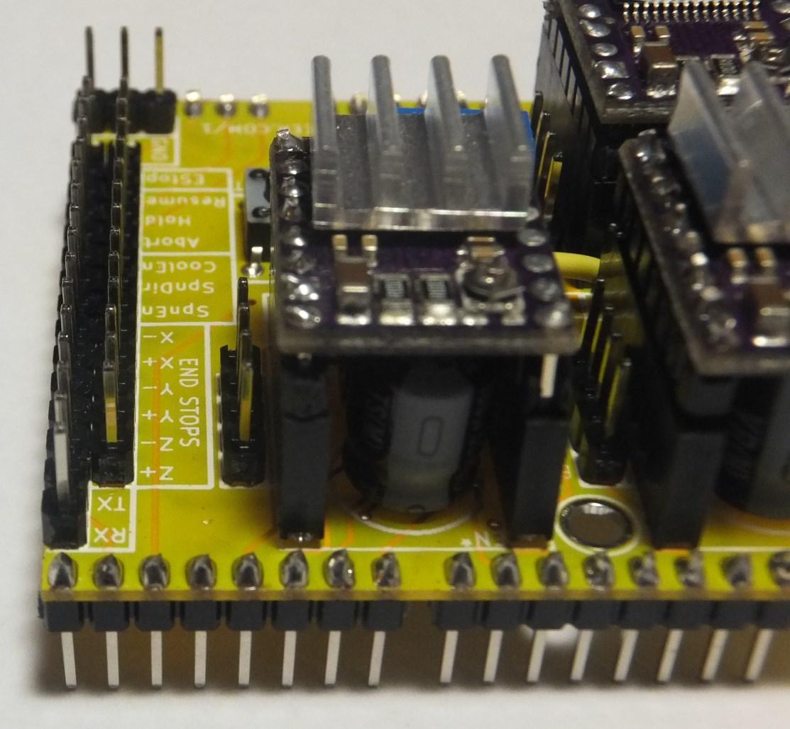 Arduino cnc shield end stop protoneer nz