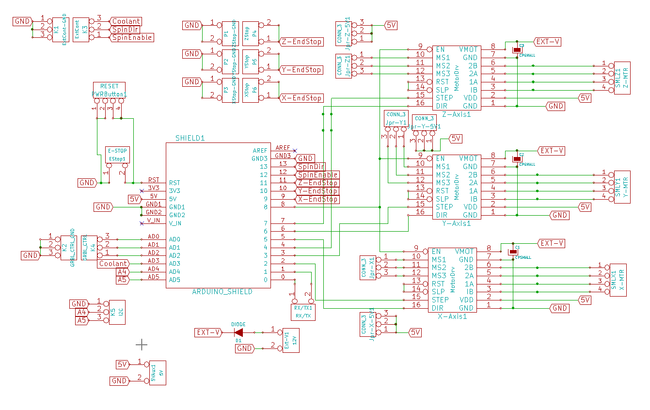 Arduino Cnc Shield Schematics Protoneer Co Nz