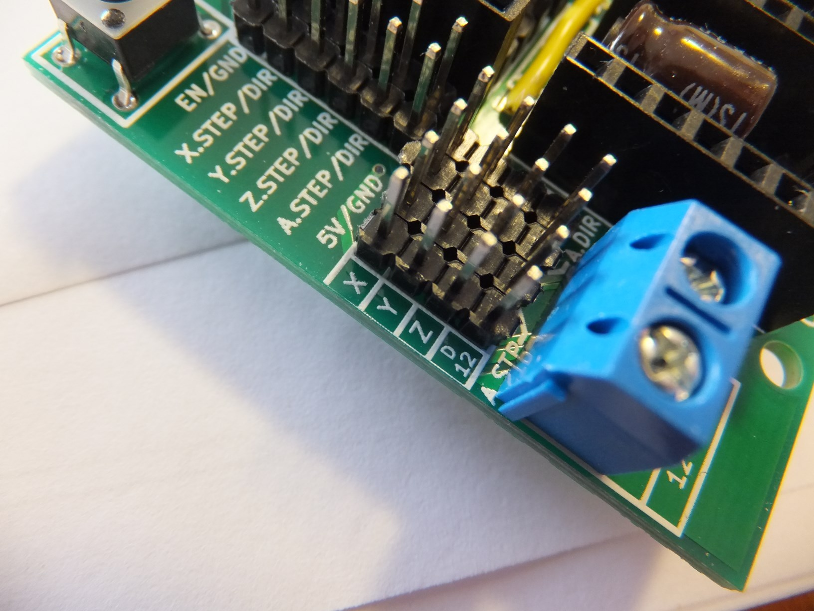 Arduino Cnc Shield 100 Grbl Compatable Protoneerconz Pcb For Cut 60 Plasma Cutter Circuit Board Pc Ac 220v We Have Designed The To Use All Pins That Implemented Also Added A Few Extra Make Things Little Easier