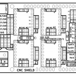 Arduino CNC Shield V3 Layout 150x150 Arduino CNC Shield   100% GRBL Compatable