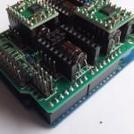 Arduino CNC Shield V3 Left 150x150 Arduino CNC Shield   100% GRBL Compatable
