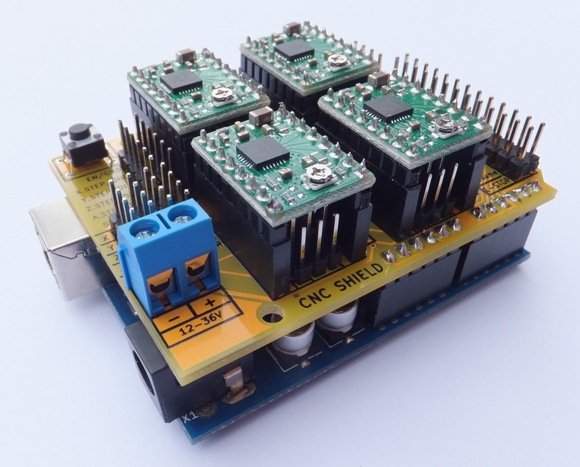 Shield Arduino Stepper CNC Driver Schematics likewise Inverter Drive ...