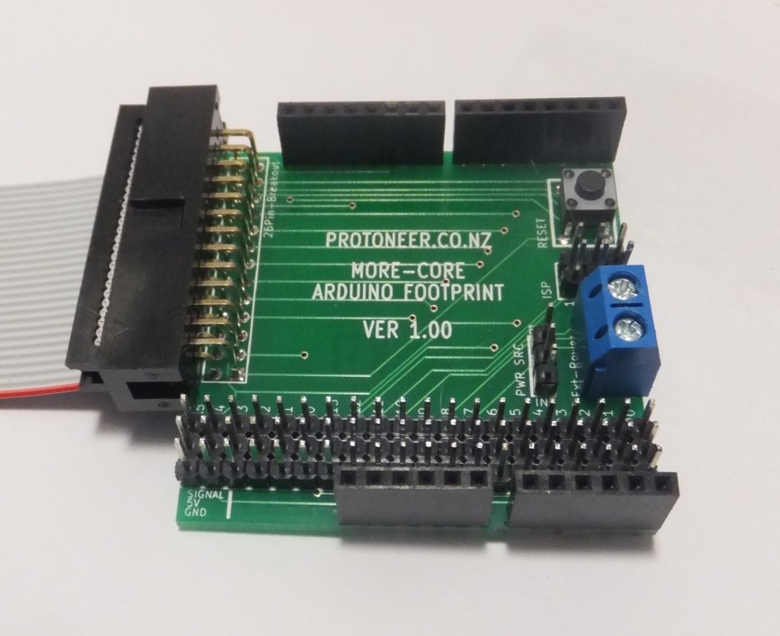 Arduino multi core breakout board protoneer nz