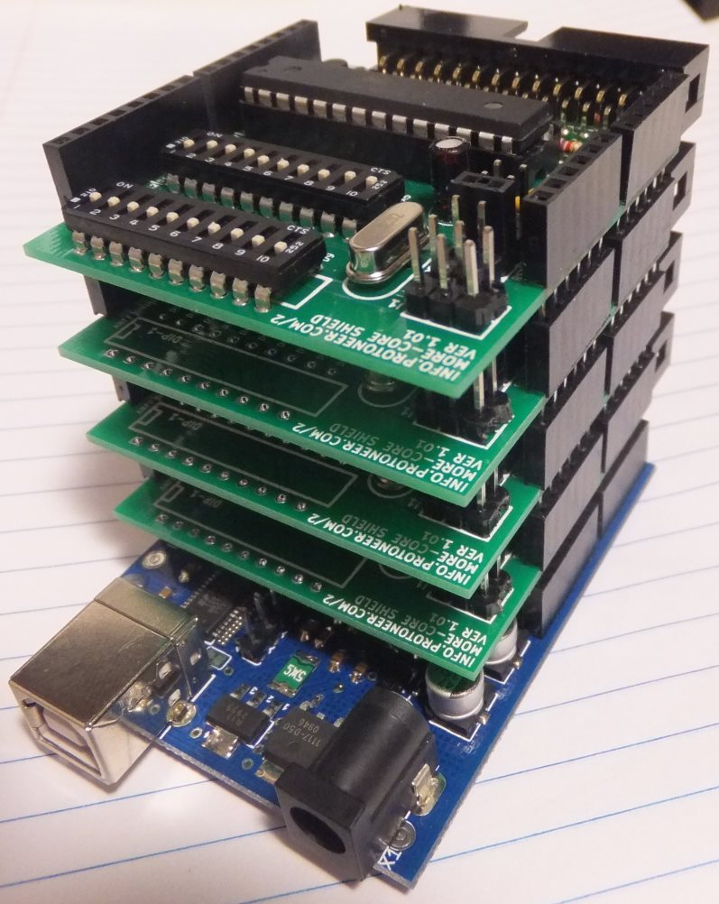 Arduino multi core stacked protoneer nz